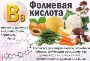 dejstvie-vitamina-B9