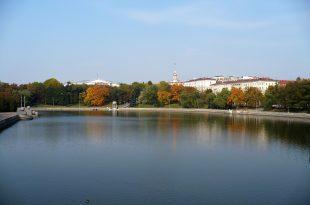 Осеннее утро в Минске