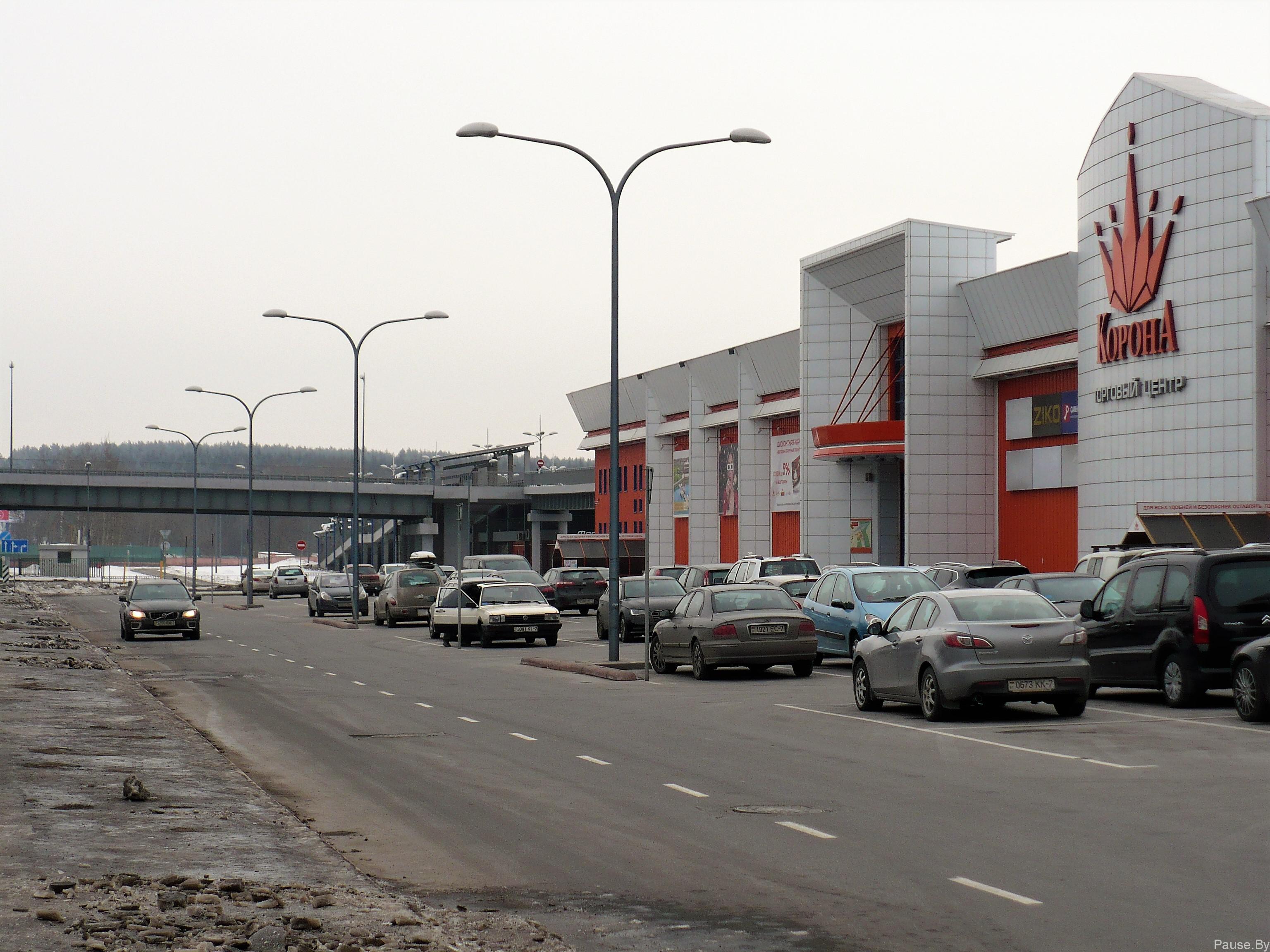 Торговый центр Корона в Уручье, Минск