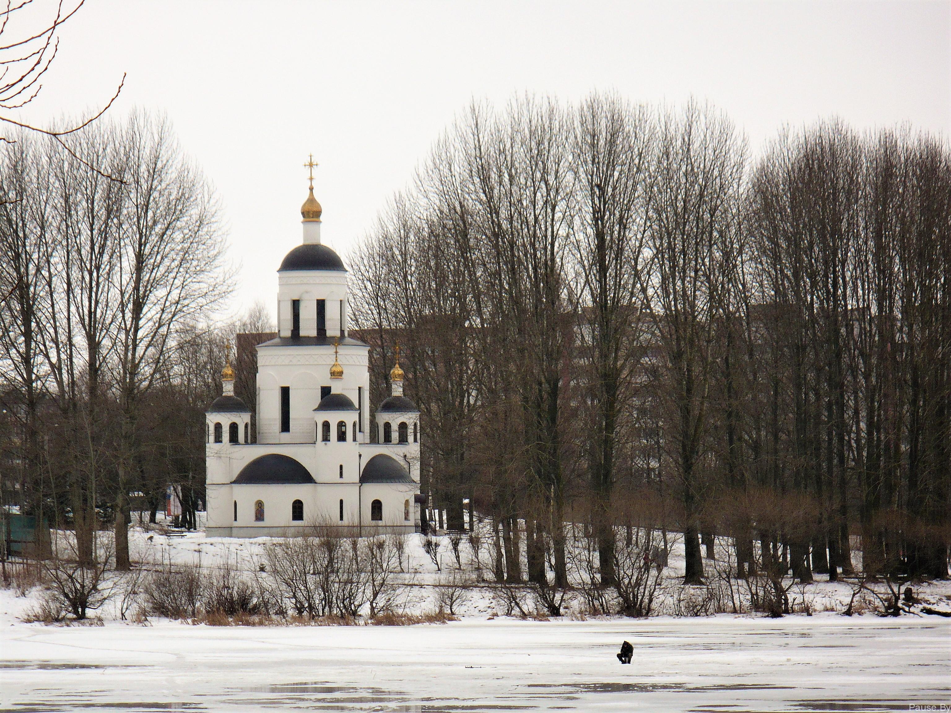 Церковь на улице Голодеда в Минске