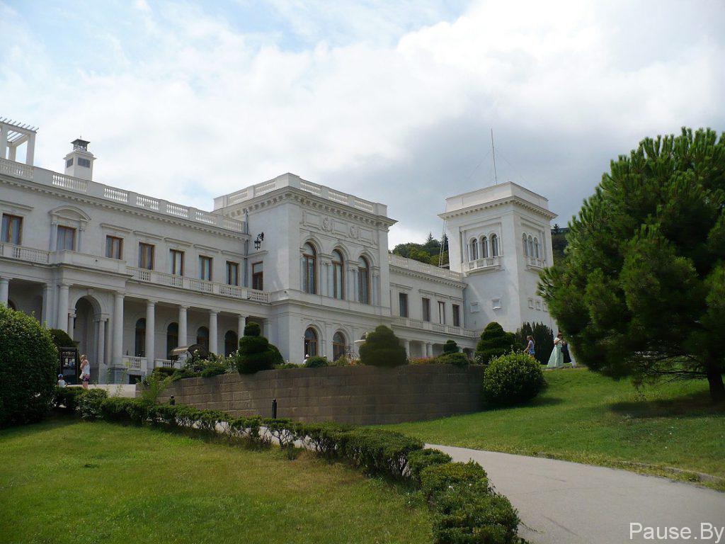 Ливадийский дворец в Ялте, фото/jpg