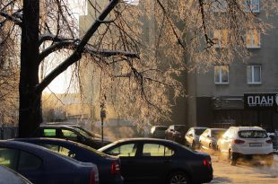 Зимнее, морозное и солнечное утро в Минске.jpg