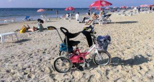 Красивый песчаный пляж города Бат Ям.jpg