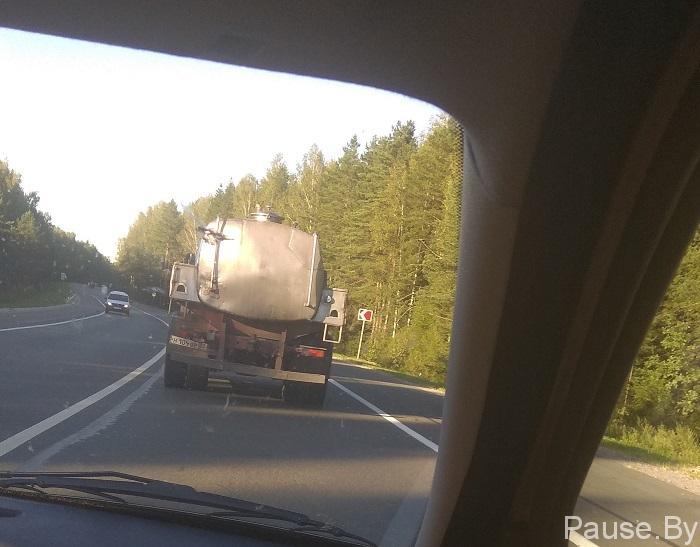Трасса по маршруту Гомель - Воронеж